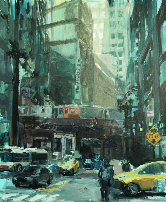 # paintings of Chicago #contemporary art