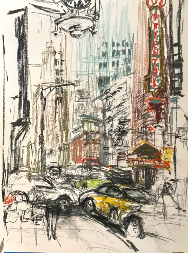 #drawings of Chicago